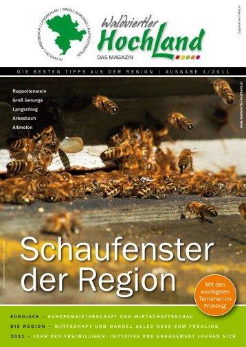 Waldviertler Hochland Magazin Ausgabe