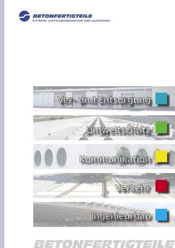 Imageprospekt_BFL - B+F Beton- und Fertigteilgesellschaft mbH