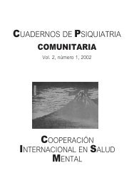Vol 2. Nº 1. 2002 - Asociación Española de Neuropsiquiatría