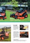 kubota diesel zero-turn mower - Kubota Australia - Page 5