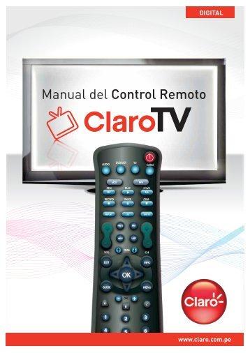 Manual del Control Remoto - Claro