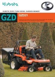 kubota zero-turn diesel garden mower - Kubota (Deutschland) Gmbh