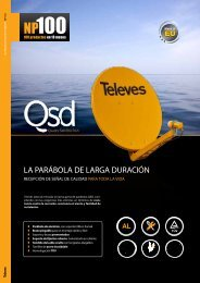 Gama QSD - Televes