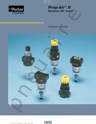 Mini Air Line Filters Regulators Lubricators - Coast Pneumatics