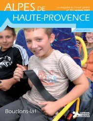 Conseil Général des Alpes de Haute Provence