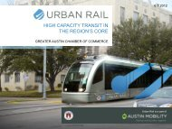 HIGH CAPACITY TRANSIT IN THE REGION'S CORE - The Greater ...