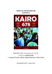 zum Film: Kairo 678 - Arsenal Filmverleih