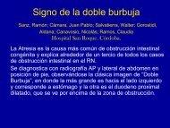 Signo de la doble burbuja - Congreso SORDIC