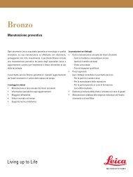 Bronzo - Leica Microsystems Inc.