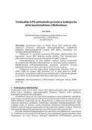 Artikkeli (pdf, 593 kt) - Geodeettinen laitos