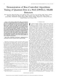 Demonstration of Bias-Controlled Algorithmic Tuning of Quantum ...