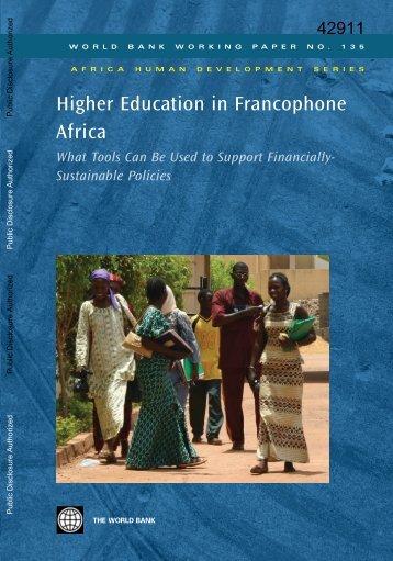 What Tools Can Be Used to Support Financially ... - World Bank
