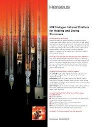 (NIR) Halogen Heaters? - Heraeus Noblelight, Inc.
