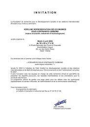Programme - Centre International de Recherche sur l ...