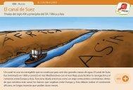 El canal de Suez - Manosanta