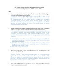 """Civil Liability Regime for the Air Operator and Aircraft Operator ..."