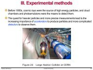 Accelerators - Particle Physics, Lund University
