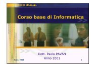 Manuale Corso Base - Paolo PAVAN