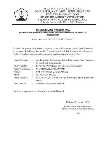 klik disini - Pemerintah Kota Malang