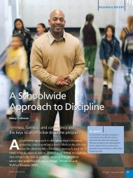A Schoolwide Approach to Discipline - National Association of ...