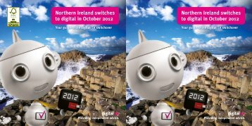 Northern Ireland switches to digital in October 2012  ... - Digital UK