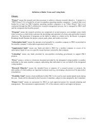 """Definition of Ballot Terms and Voting Rules Glossary """"Project ... - PRCI"""