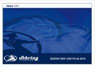 News 1/11 Suzuki GSX 1250 FA ab 10
