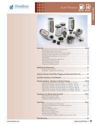 Fuel Filtration - Donaldson Company, Inc.