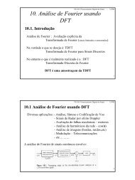 10. Análise de Fourier usando DFT 10.1. Introdução
