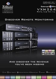 Discover Remote Monitoring - Videcon