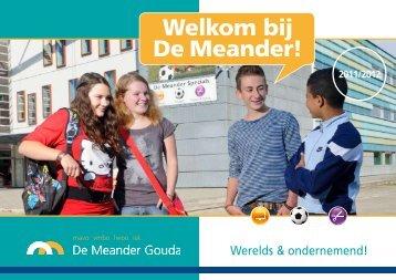 Tot ziens bij De Meander! - Carmelcollege Gouda