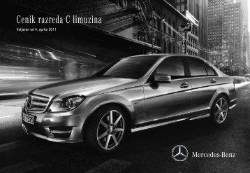 Mercedes-Bnez C - cenik - Avto.info
