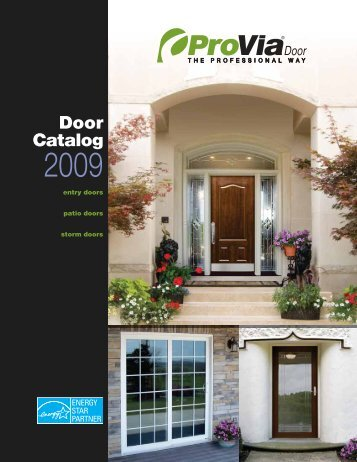 Door Catalog - ALCO Windows