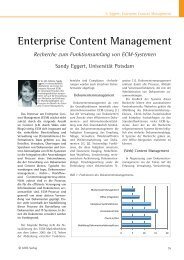 Enterprise Content Management - Industrie Management