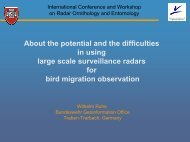 Presentation - International Conference and Workshop on Radar ...