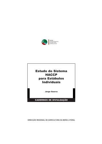 Estudo do Sistema HACCP para Estábulos Individuais - Direcção ...