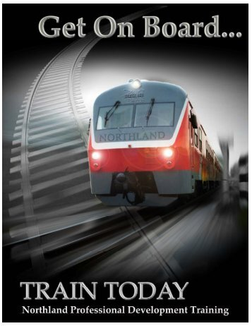 Get On Board Brochure - Northland Community & Technical College