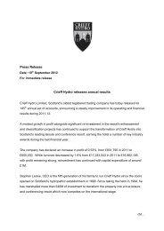Crieff Hydro release annual accounts