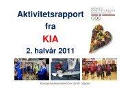 Kompetansesenteret for Idrett i Agder - Norges idrettsforbund