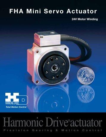 FHA-C Mini 24v Spec Sheet PDF - Harmonic Drive LLC