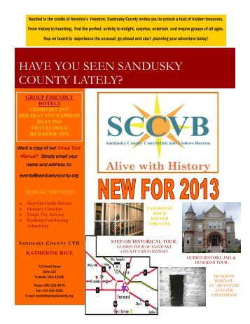 Sandusky County CVB Profile - Ohio Has It!