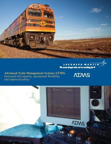 Advanced Train Management System (ATMS ... - Lockheed Martin