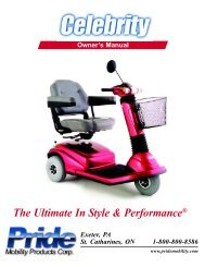 Celebrity 2000 - Pride Mobility Products