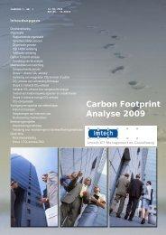 Carbon Footprint Analyse 2009 - Bostec