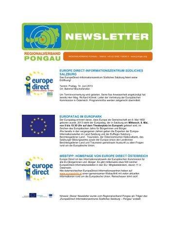 europe direct-informationszentrum südliches salzburg europatag im ...