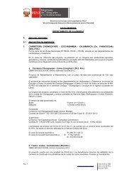 CAJAMARCA - Provias Nacional