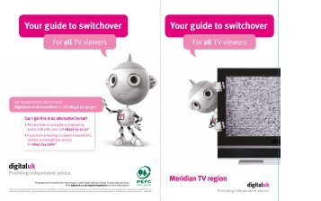 Your guide to switchover - Digital UK