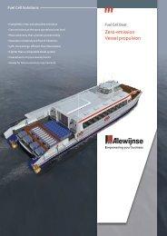 Zero-emission Vessel propulsion - Alewijnse