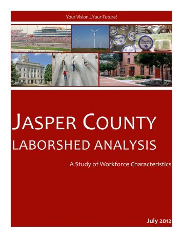 Jasper County Area 2012 - Iowa Workforce Development