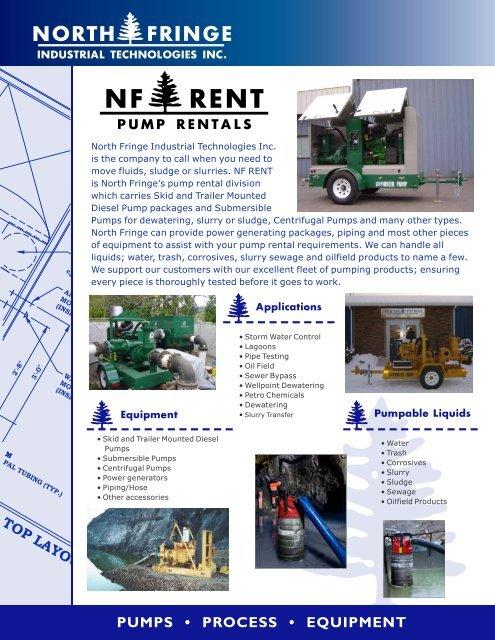 Pump Rental Brochure - North Fringe | Industrial